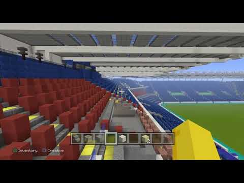 Madejski stadium project PS4 minecraft .Unfinished project by Mears designs. Football  soccer