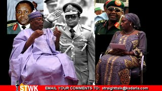 Abacha explained the Shonekan coup to me- Ibrahim Babangida on Straight Talk with Kadaria 44b