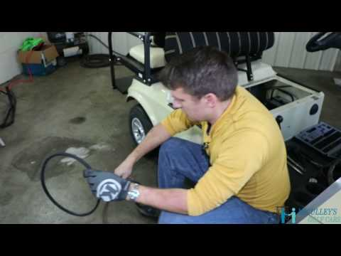 How to Replace your Starter Generator Belt on the 2004 Club Car DS Gas Golf Cart