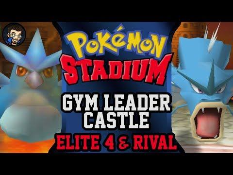 Pokémon Stadium - Gym Leader Castle | Elite Four & Rival |