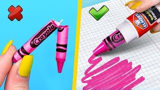 Download 14 Fun Ways To Fix And Reuse School Supplies! Video