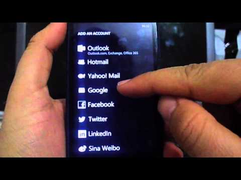 How to import your contacts from google account to windows phone 8