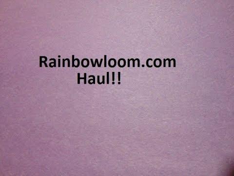 Rainbowloom.com Haul!!