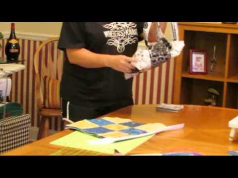How to make a quilt tote purse/handbag (tutorial)