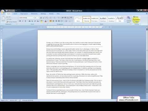 Word | How to easily replace words in a Word document?