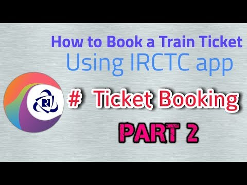 How to book #Train ticket using #IRCTC app in #Tamil [PART - 2] | IRCTC app Mobile Booking
