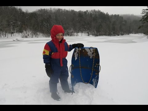 DIY Sled (from a barrel)