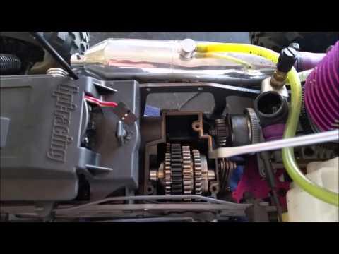 HPI Savage 3 Speed Transmission tip for adjusting the shift points