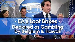 Belgium & Hawaii Say EA