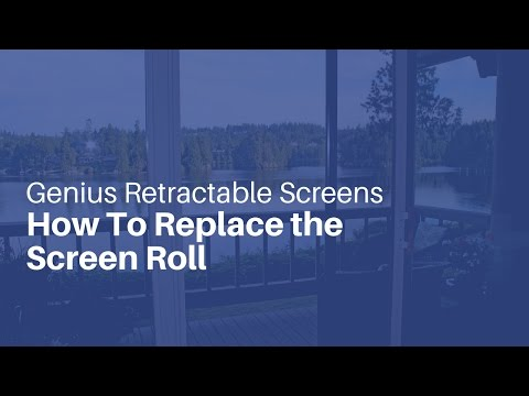 How To Replace the Screen Roll