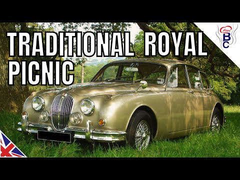 British Royal Wedding Wimbledon Picnic With Clotted Cream Cake Idea