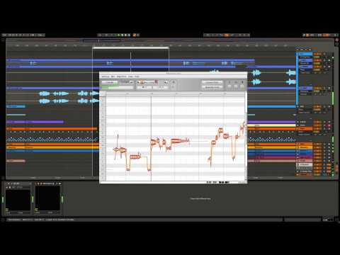 Ableton Live Remixing - Changing a vocal's pitch to match your musical backing