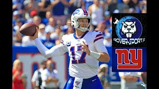 Download Josh Allen Buffalo Bills QB vs Giants Film Review Video