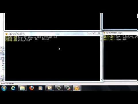 chatterBox 2.0 Multi-threaded Client/Server Chat Program [C++] [Casey Rodman]