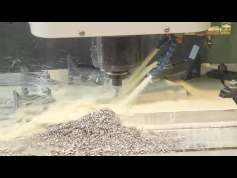 CNC Machining Titanium for the Fastest Boat in the World.