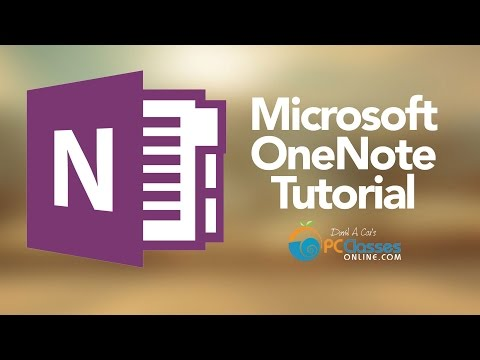 Microsoft OneNote Tutorial [Old Version]