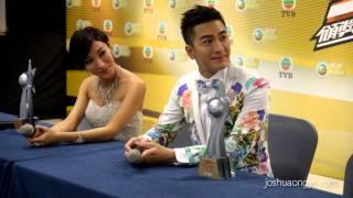 Kenneth Ma 馬國明 & Tavia Yeung 楊怡 - TVB马来西亚星光荟萃颁奖典礼2013后台媒体访问