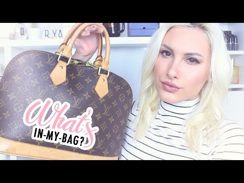 What's In My Bag - Louis Vuitton Alma PM ♡ Stefy Puglisevich