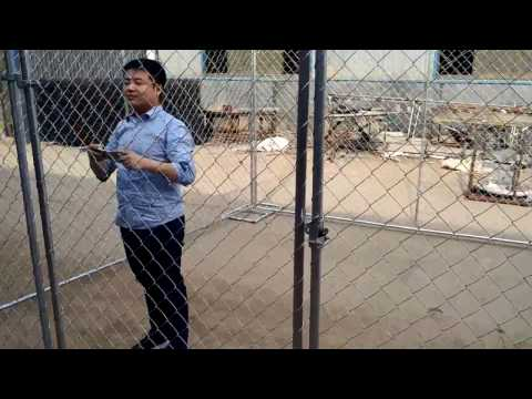 Temporary Chain Link Fence Gate