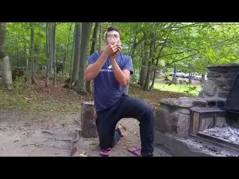 Bow Drill Fire Starting