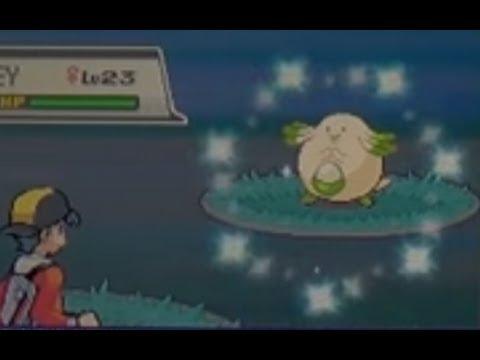 Live Shiny Chansey After 3,030 REs! (Pokemon SoulSilver)