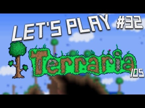 Let's Play Terraria iOS Edition- Statue Room Speed Build! Episode 32