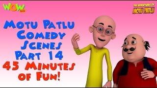 Motu Patlu comedy scenes Part 14 - Motu Patlu Compilation