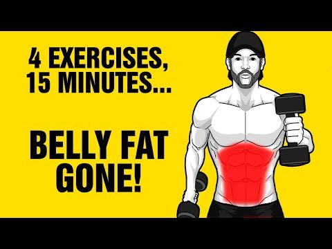 15min Extreme Dumbbell Fat Loss Workout - Lose Belly Fat Fast - Sixpackfactory