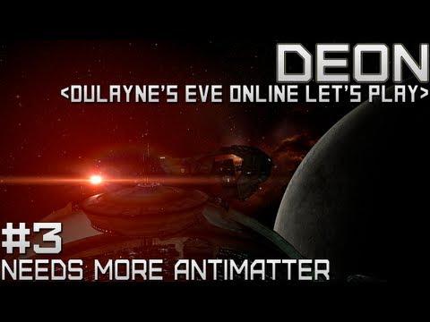 Lets Play EVE Online - Needs more Antimatter (Tutorial Gameplay walkthrough)