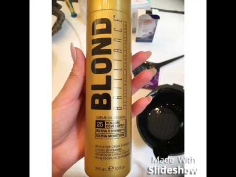 Toning BRASSY/ORANGE hair after bleaching