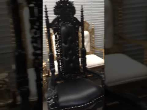 King of Throne style Royal Chairs