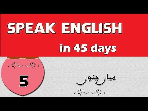 Speak English in 45 Days Mian Channu Serial Day 5 #Mian Channu