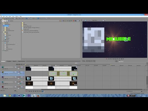 How to Make a 3D Minecraft Intro Sony Vegas Pro 13 12 11