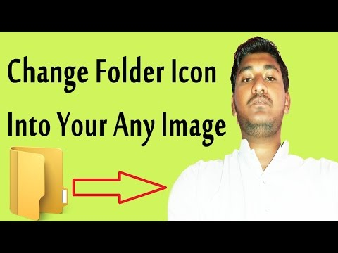 How To Change Folder Icon Into Your Image In Urdu/Hindi