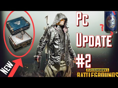 2 NEW Crates , Free Battlepoints | PUBG Update #2 Review