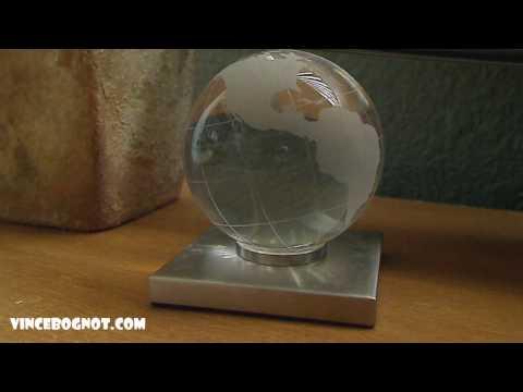 Blue Earth Light LED Globe