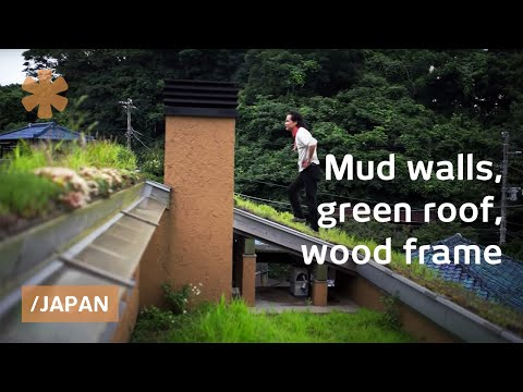 Modern-old Japan mud house: smart & bioclimatic on a budget