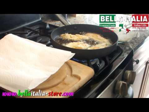 How to prepare Italian fried zucchini blossoms