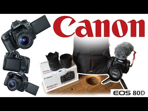 Massive Camera Upgrade | Canon 80D | Unboxing