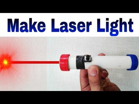 Home Made Laser Light || How to Make Laser Light ||Same Laser Use security Alarm||Learn everyone