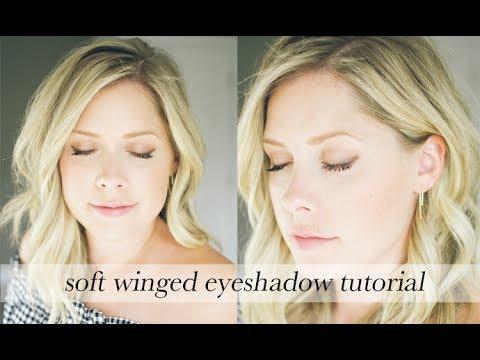Soft Winged Eyeshadow Tutorial