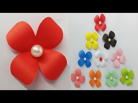 DIY crafts: How to Make Beautiful Paper Flowers - Paper Flower Tutorial - Very Easy And Simple Way
