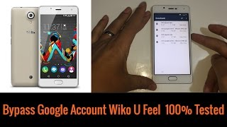 Bypass Remove Google Acount Lock Frp On Wiko sunny 2017 Lock Frp No