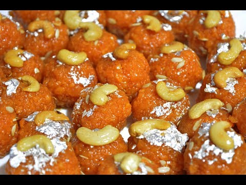 Motichoor Ladoo | மோத்தி சூர் லட்டு | Boondi laddu | Motichur Ladoo Recipe | Diwali Recipe