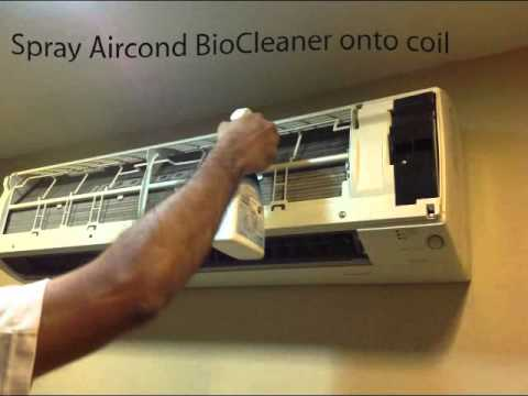 Do-It-Yourself Aircond Cleaning