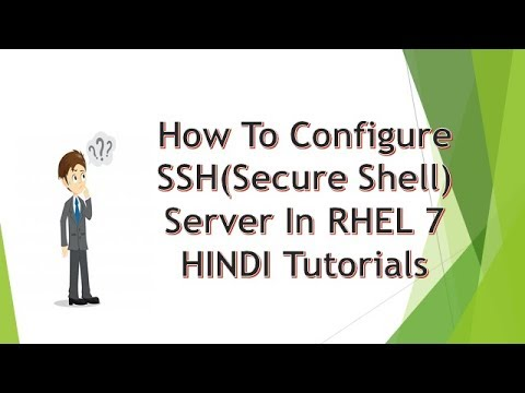 How to configure SSH server in linux 7 and centos 7