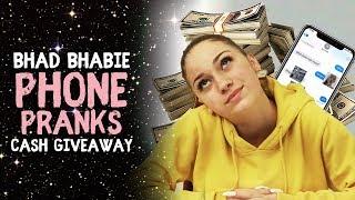 BHAD BHABIE Phone Pranks & $5000 Cash Giveaway   Danielle Bregoli