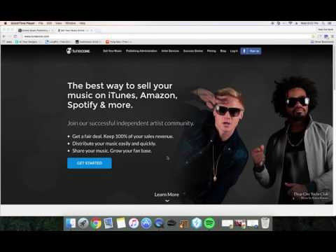 How to get your music on Itunes and Spotify