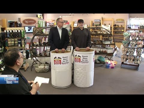 Shoe drive for the homeless gets underway