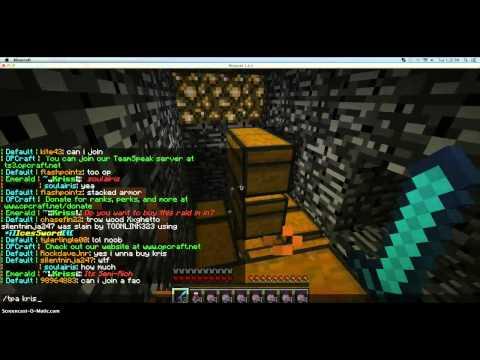 Minecraft 1.6.4 Server! Op Craft! OP kits!